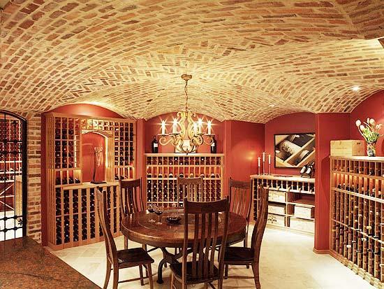 地下酒窖设计效果图